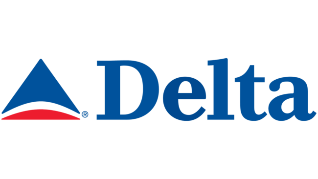 Delta Air Lines (Second era) Logo 2000-2004