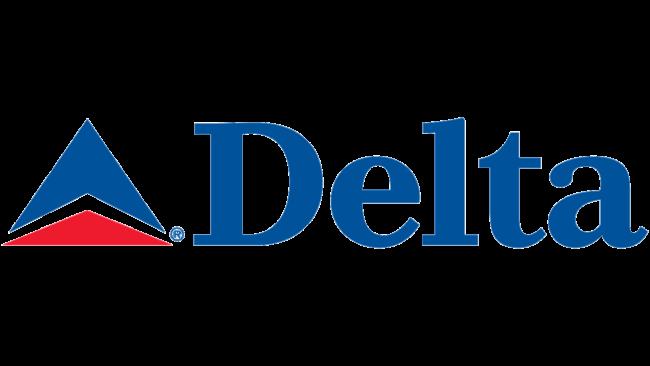 Delta Air Lines (Second era) Logo 2004-2007