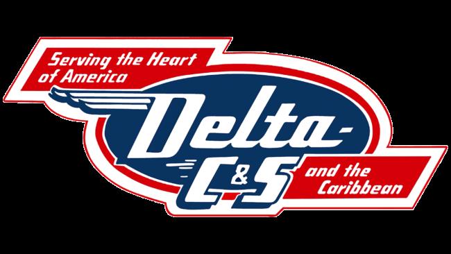 Delta C&S Logo 1953-1955