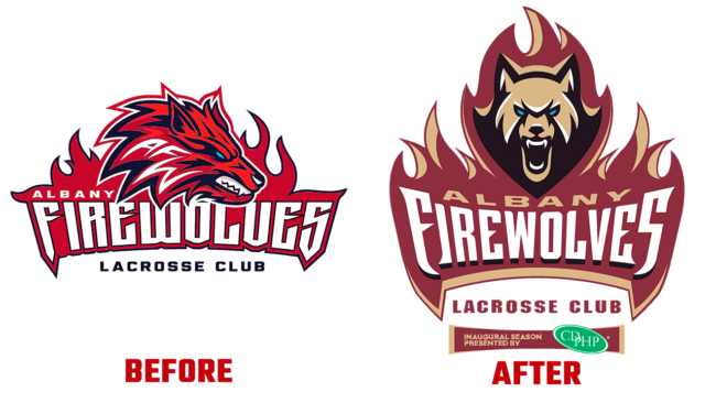 FireWolves Prima e Dopo Logo (storia)