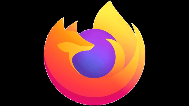 Firefox Browser Logo 2019-oggi