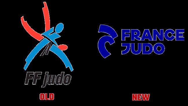 France Judo Vecchio e Nuovo Logo (storia)