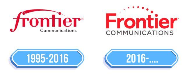 Frontier Communications Logo Storia