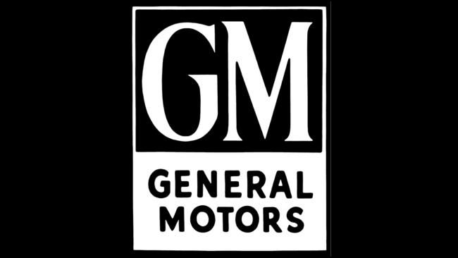 General Motors Logo 1938-1964