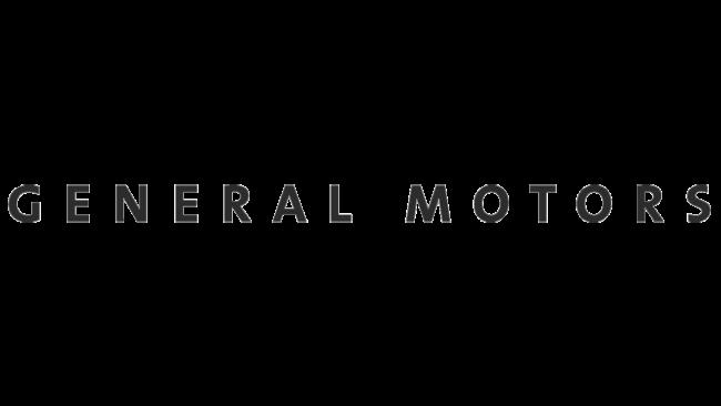 General Motors Logo 2016-2021
