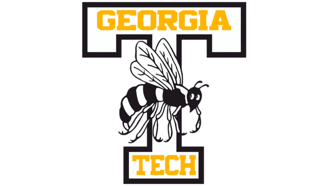Georgia Tech Yellow Jackets Logo 1964-1968