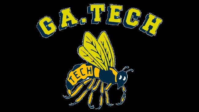 Georgia Tech Yellow Jackets Logo 1969-1977