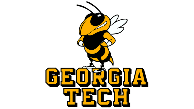 Georgia Tech Yellow Jackets Logo 1978-1990