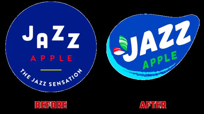 Jazz Apple Prima e Dopo Logo (storia)