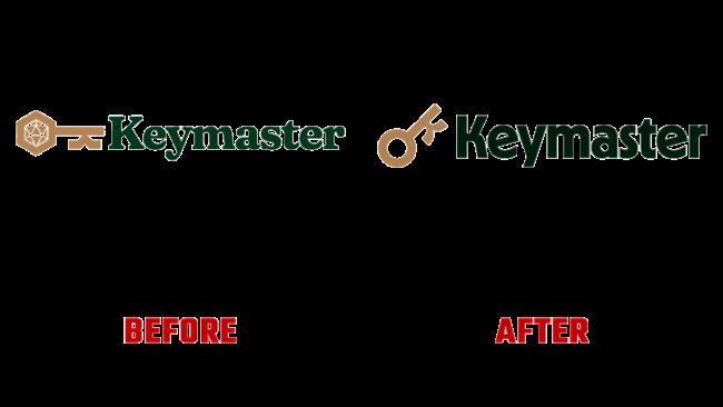 Keymaster Games Prima e Dopo Logo (storia)