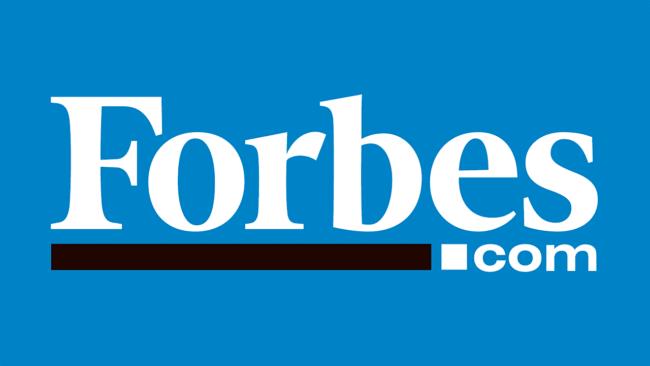 Logo della Forbes