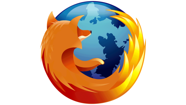 Mozilla Firefox Logo 2005-2009