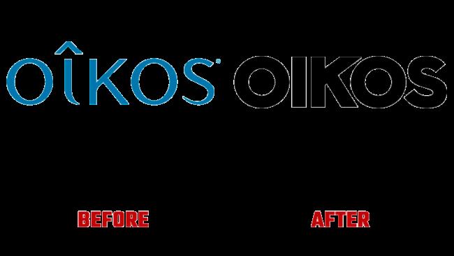 Oikos Prima e Dopo Logo (storia)