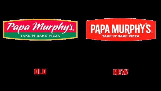Papa Murphy's Vecchio e Nuovo Logo (storia)