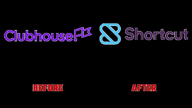 Shortcut Prima e Dopo Logo (storia)