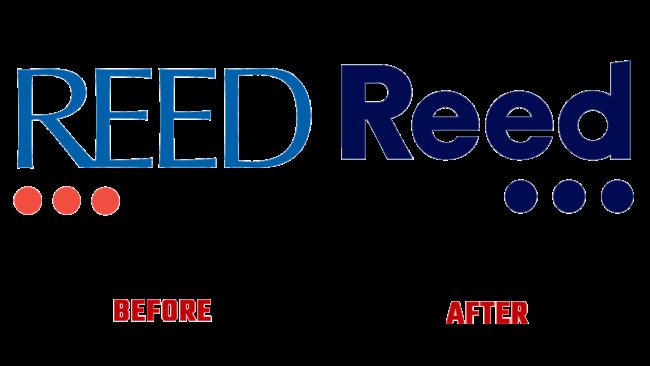 The Reed Group Prima e Dopo Logo (storia)