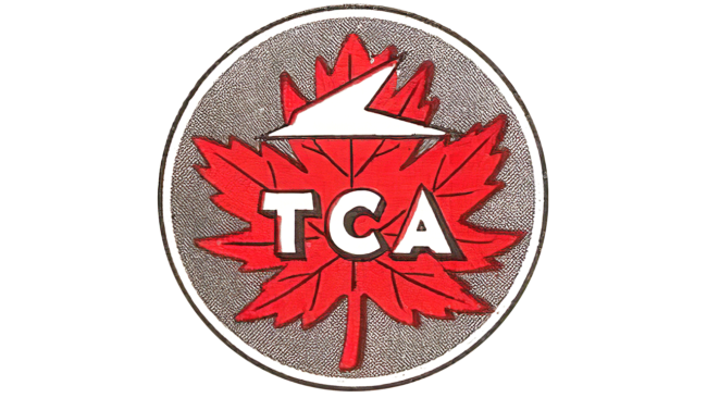 Trans Canada Air Lines Logo 1937-1945