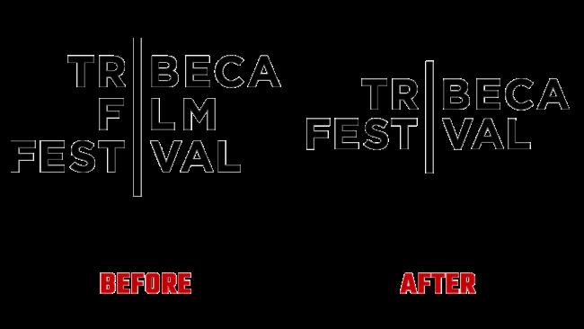 Tribeca Festival Prima e Dopo Logo (storia)
