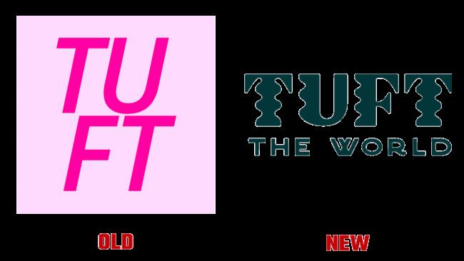 Tuft the World Vecchio e Nuovo Logo (storia)