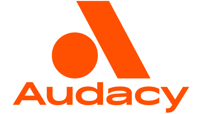 Audacy Nuovo Logo