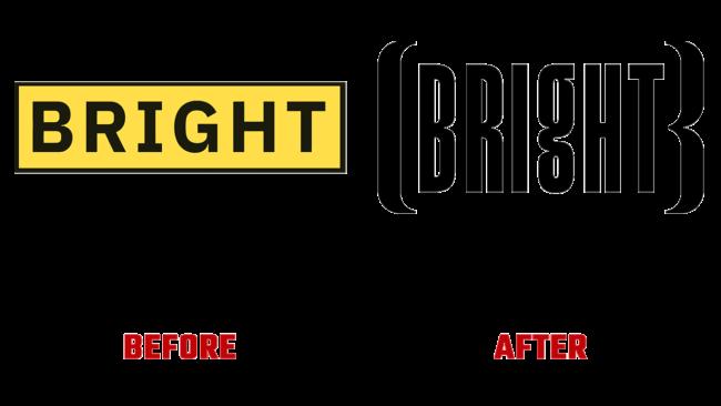 Bright Prima e Dopo Logo (storia)