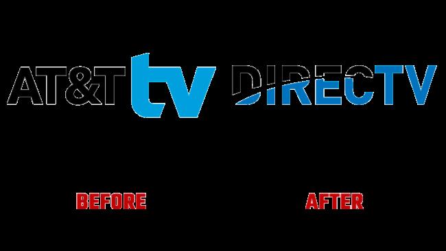 DirecTV Prima e Dopo Logo (storia)