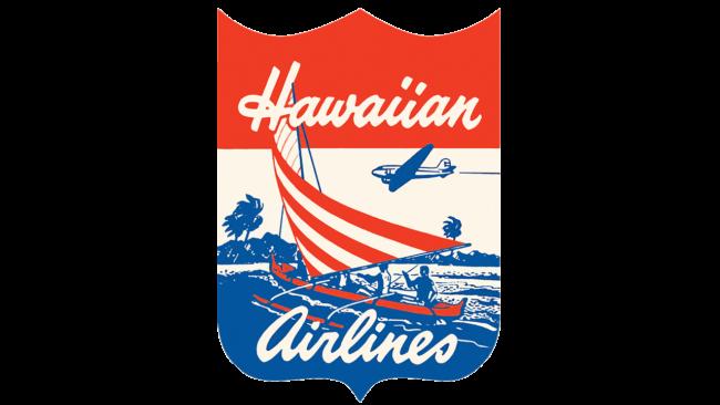 Hawaiian Airlines Logo 1940-1950