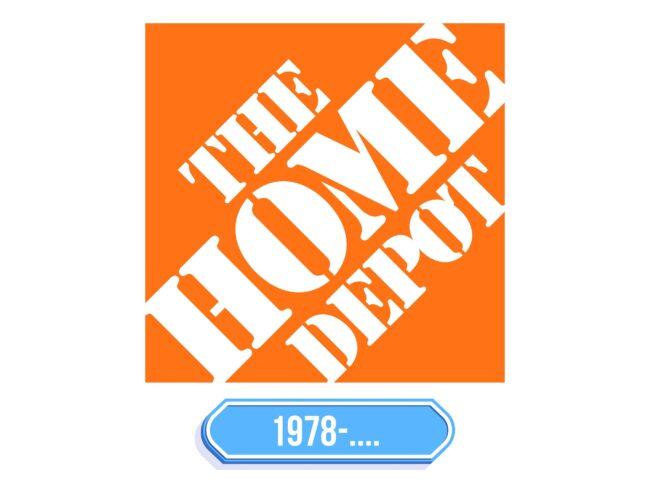 Home Depot Logo Storia