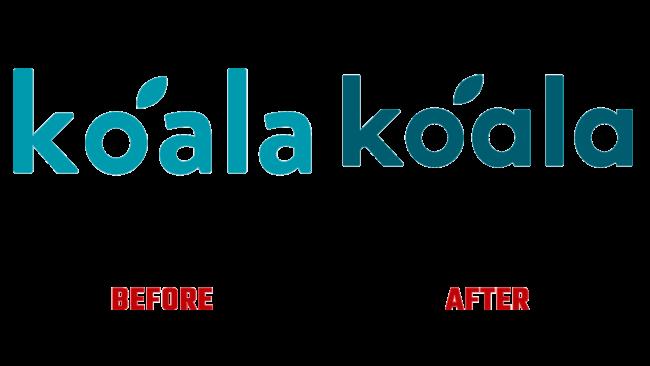 Koala Prima e Dopo il Logo (storia)