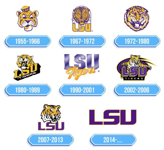 LSU Logo Storia