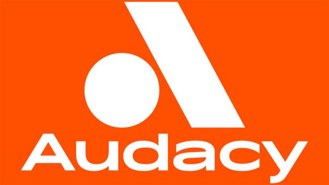 Logo della Audacy