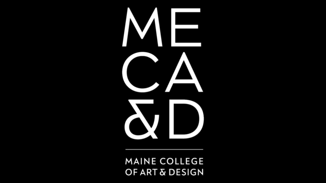 Logo della Maine College of Art & Design (MECA&D)