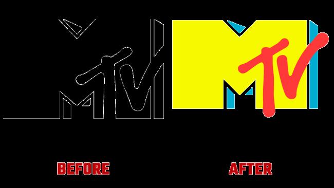 MTV Prima e Dopo Logo (storia)