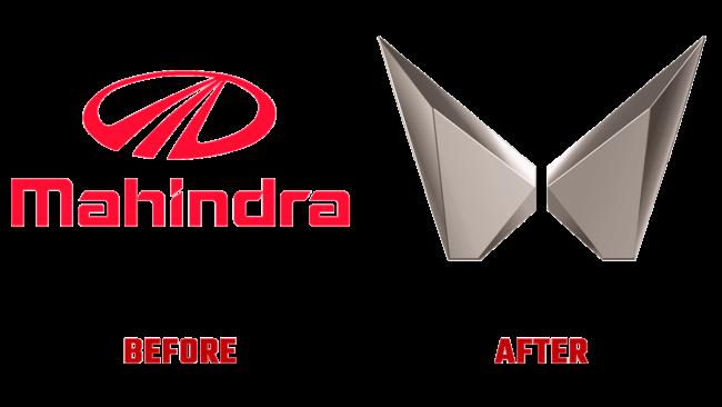 Mahindra & Mahindra Prima e Dopo Logo (storia)
