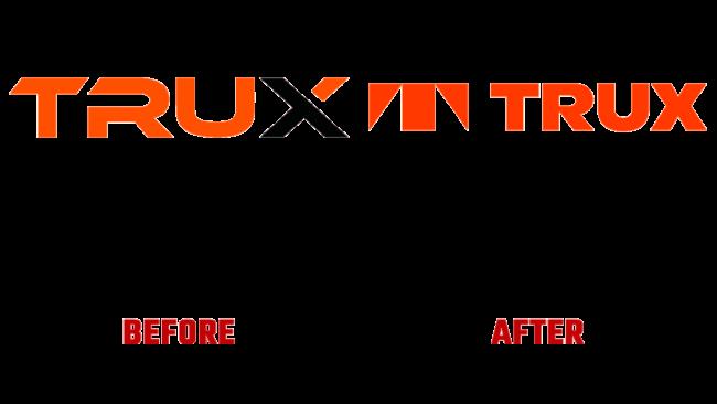 Trux Prima e Dopo Logo (storia)