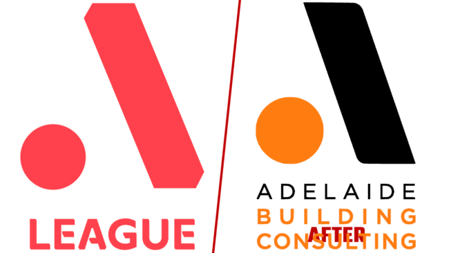 A League e Adelaide Building Consulting Logo