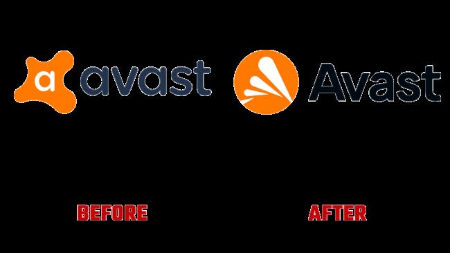 Avast Prima e Dopo Logo (storia)