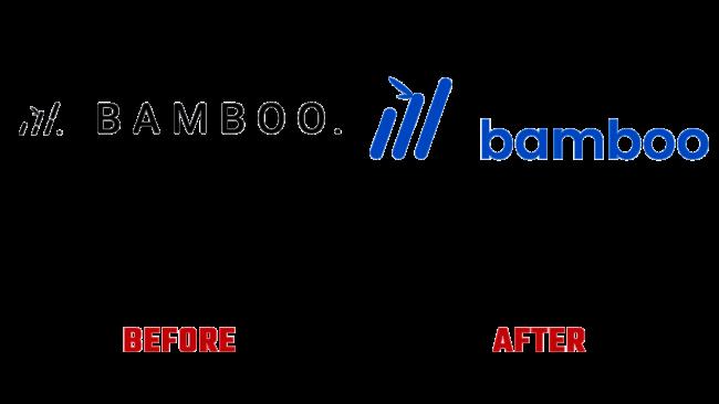Bamboo Prima e Dopo Logo (storia)