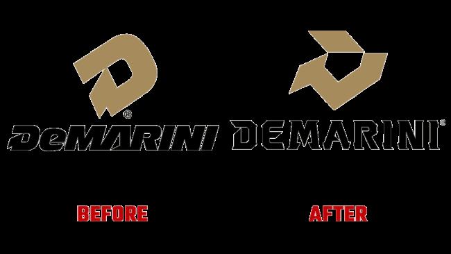 DeMarini Prima e Dopo Logo (storia)