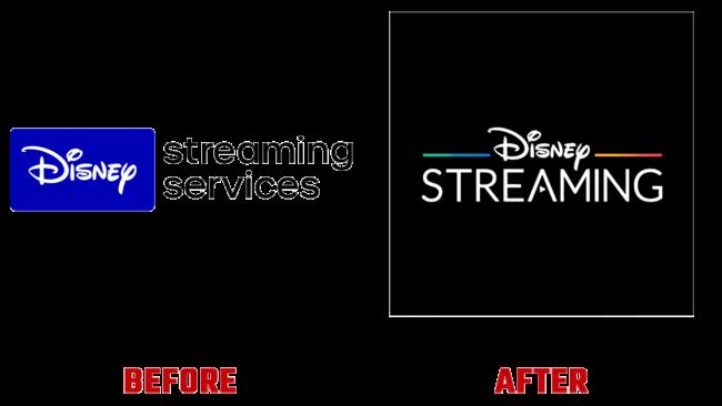 Disney Streaming Prima e Dopo Marchio (storia)