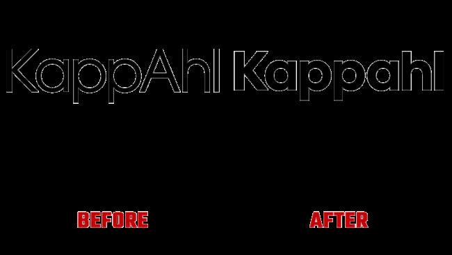 Kappahl Prima e Dopo Logo (storia)