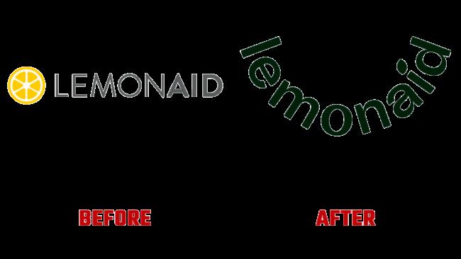 Lemonaid Health Prima e Dopo Logo (storia)