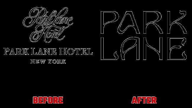 Park Lane Prima e Dopo Logo (storia)