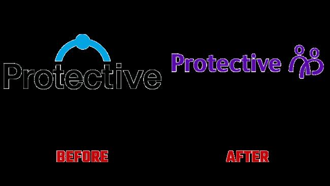 Protective Prima e Dopo Marchio (storia)