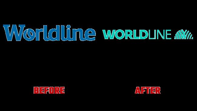 Worldline Prima e Dopo Logo (storia)